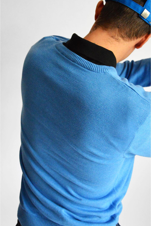 TOBIN V-nyakú pulóver