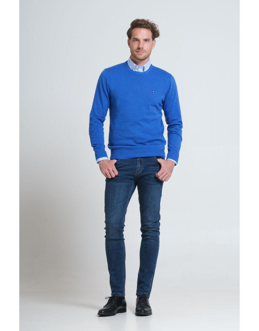 BULLIO pulóver (blue)