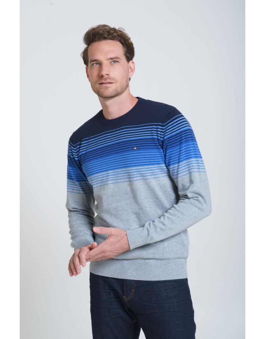 DINUBA pulóver (grey-blue)