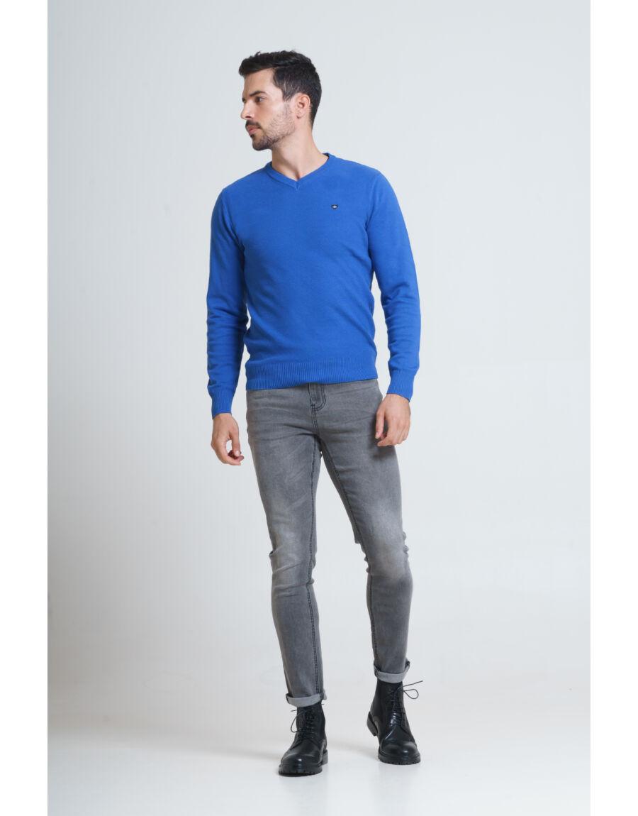 ENID pulóver (blue)