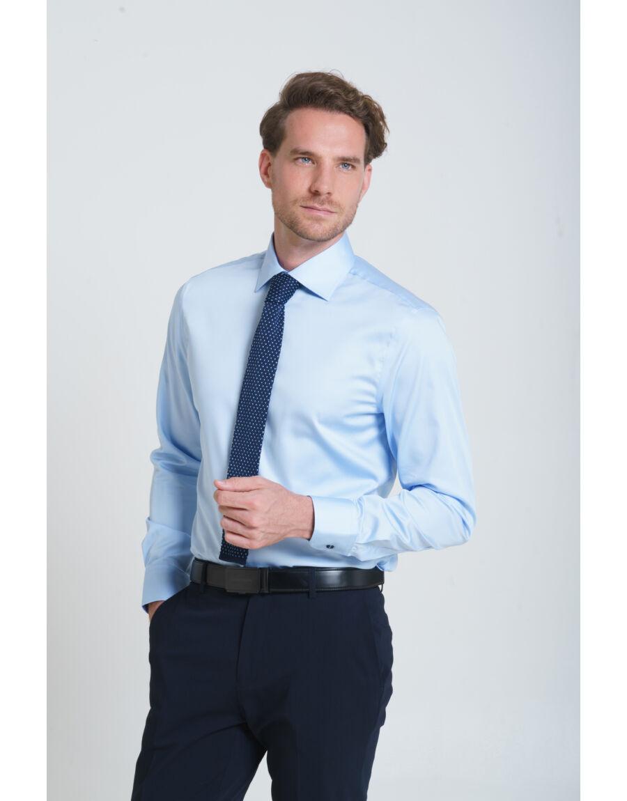 BOSSA MODBURY slim ing (light blue)