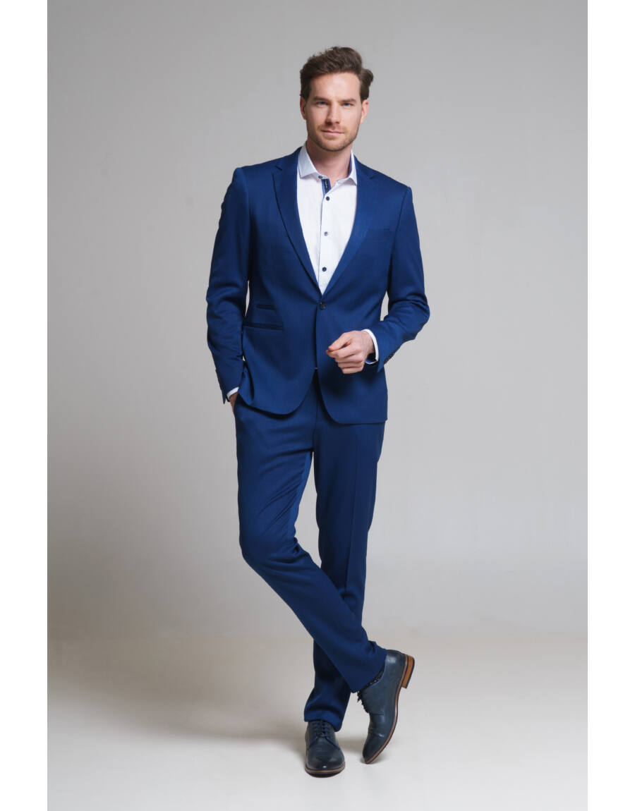 WYOMING LANGAR öltönynadrág (Blue)