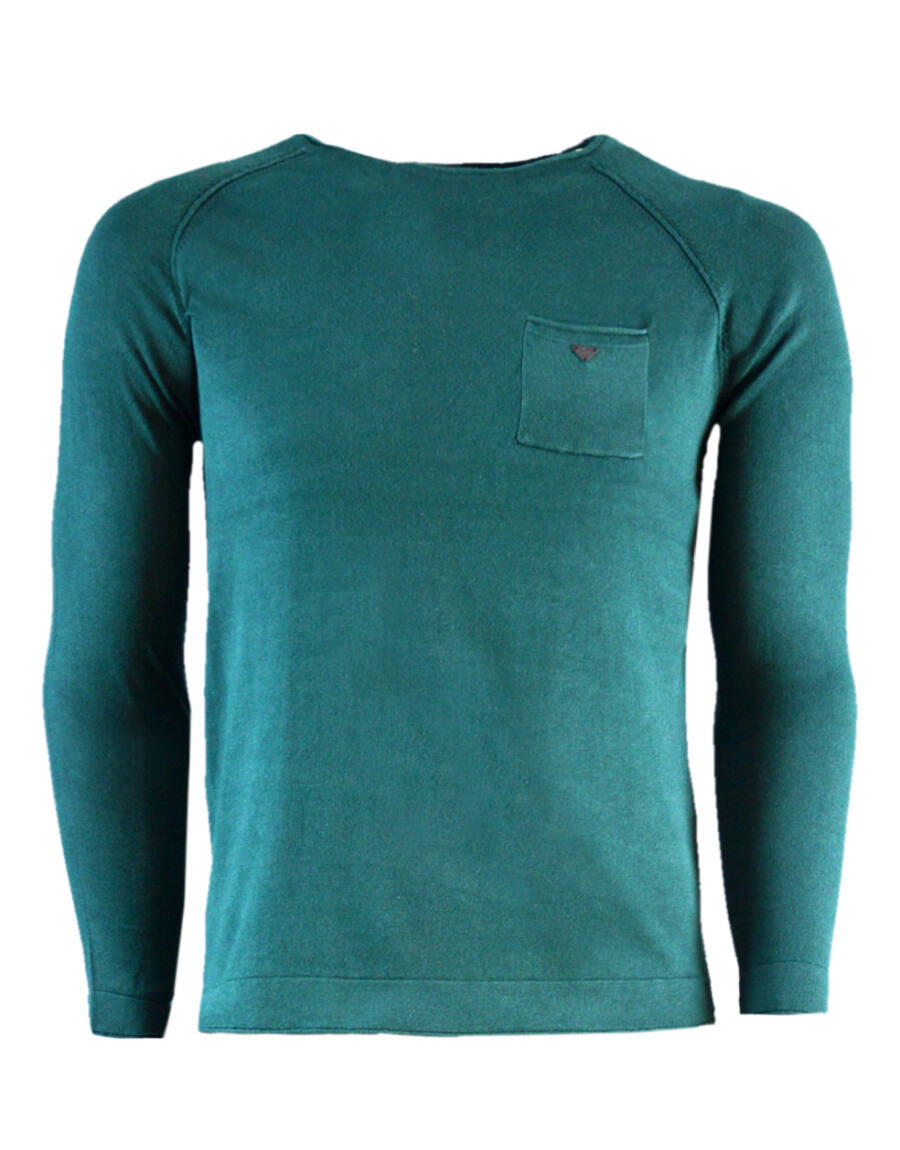 EUSTON pulóver (green)